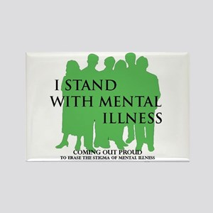 Stand With Mental Illness Magnets