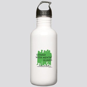 Stand With Mental Illness Water Bottle