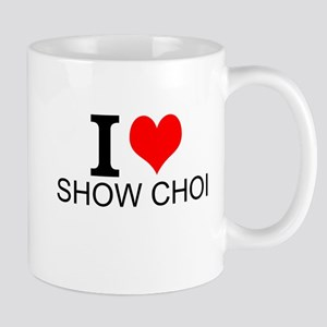 I Love Show Choir Mugs
