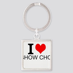 I Love Show Choir Keychains