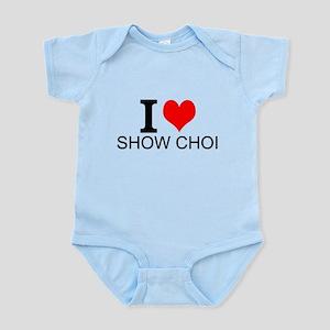 I Love Show Choir Body Suit
