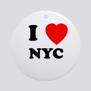 NYC Ornament (Round)