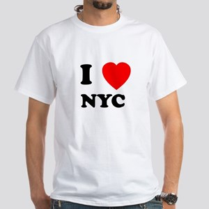 NYC White T-Shirt