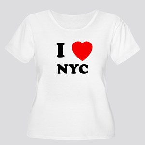 NYC Women's Plus Size Scoop Neck T-Shirt