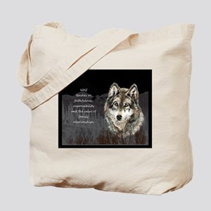 Wolf Totem Animal Spirit Guide for Inspiration Tot