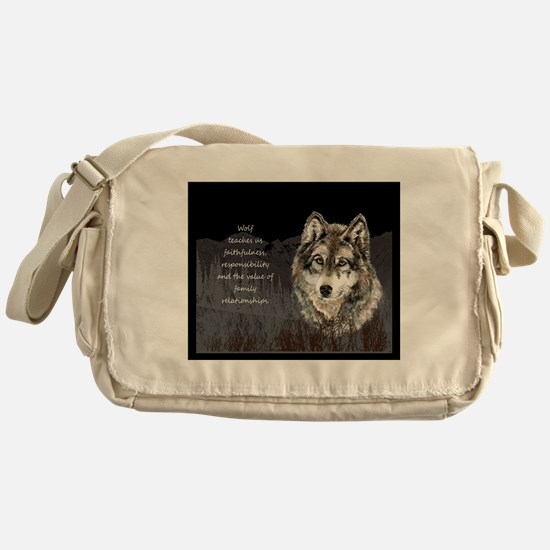 Wolf Totem Animal Spirit Guide for Inspiration Mes