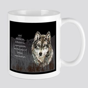 Wolf Totem Animal Spirit Guide for Inspiration Mug