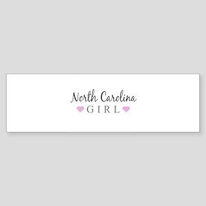 North Carolina Girl Bumper Sticker