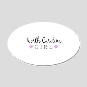 North Carolina Girl Wall Decal