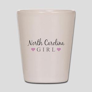 North Carolina Girl Shot Glass
