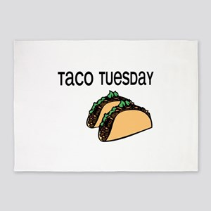 Taco Tuesday 5'x7'Area Rug