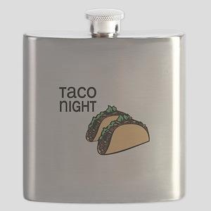 Taco Night Flask
