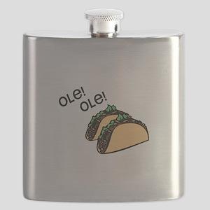 Ole Taco Flask