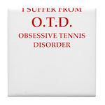 tennis Tile Coaster