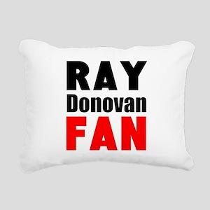 Ray Donovan Fan Rectangular Canvas Pillow