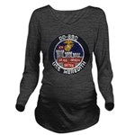 USS MEREDITH Long Sleeve Maternity T-Shirt