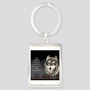 Wolf Totem Animal Spirit Guide for Inspiration Key
