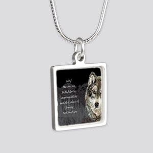 Wolf Totem Animal Spirit Guide For Necklaces