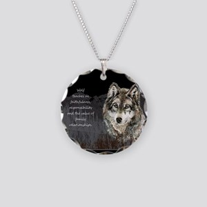 Wolf Totem Animal Spirit Guide for Inspiration Nec