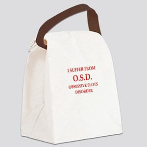 slots Canvas Lunch Bag