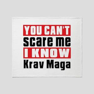 I Know Krav Maga Throw Blanket