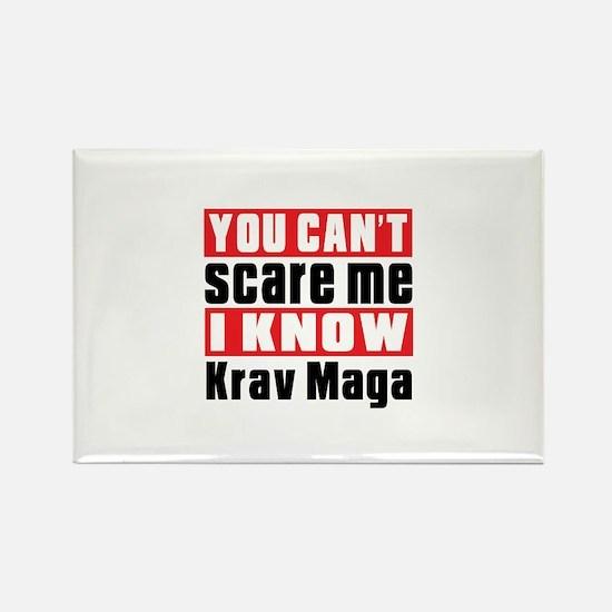I Know Krav Maga Rectangle Magnet (10 pack)
