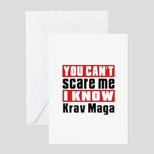 I Know Krav Maga Greeting Card