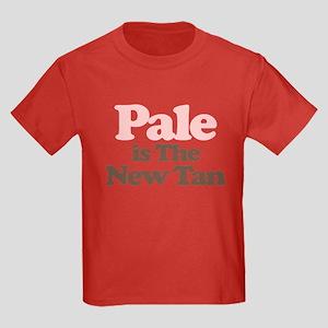 """Pale is the New Tan"" Kids Dark T-Shirt"