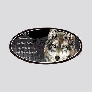 Wolf Totem Animal Spirit Guide for Inspiration Pat