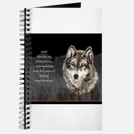 Wolf Totem Animal Spirit Guide for Inspiration Jou