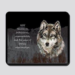 Wolf Totem Animal Spirit Guide for Inspiration Mou