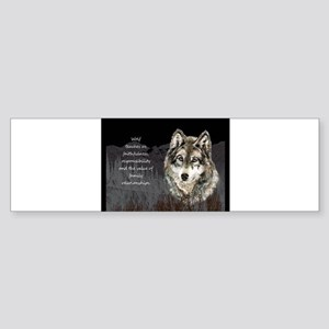 Wolf Totem Animal Spirit Guide for Inspiration Bum
