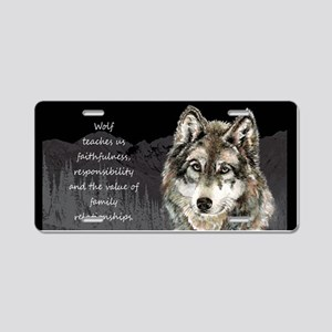 Wolf Totem Animal Spirit Guide for Inspiration Alu