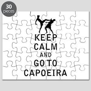 Keep Calm and Go To Capoeira Puzzle