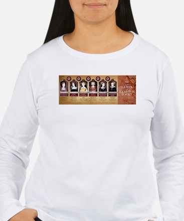 Hampton Court, Tudor Wives Long Sleeve T-Shirt
