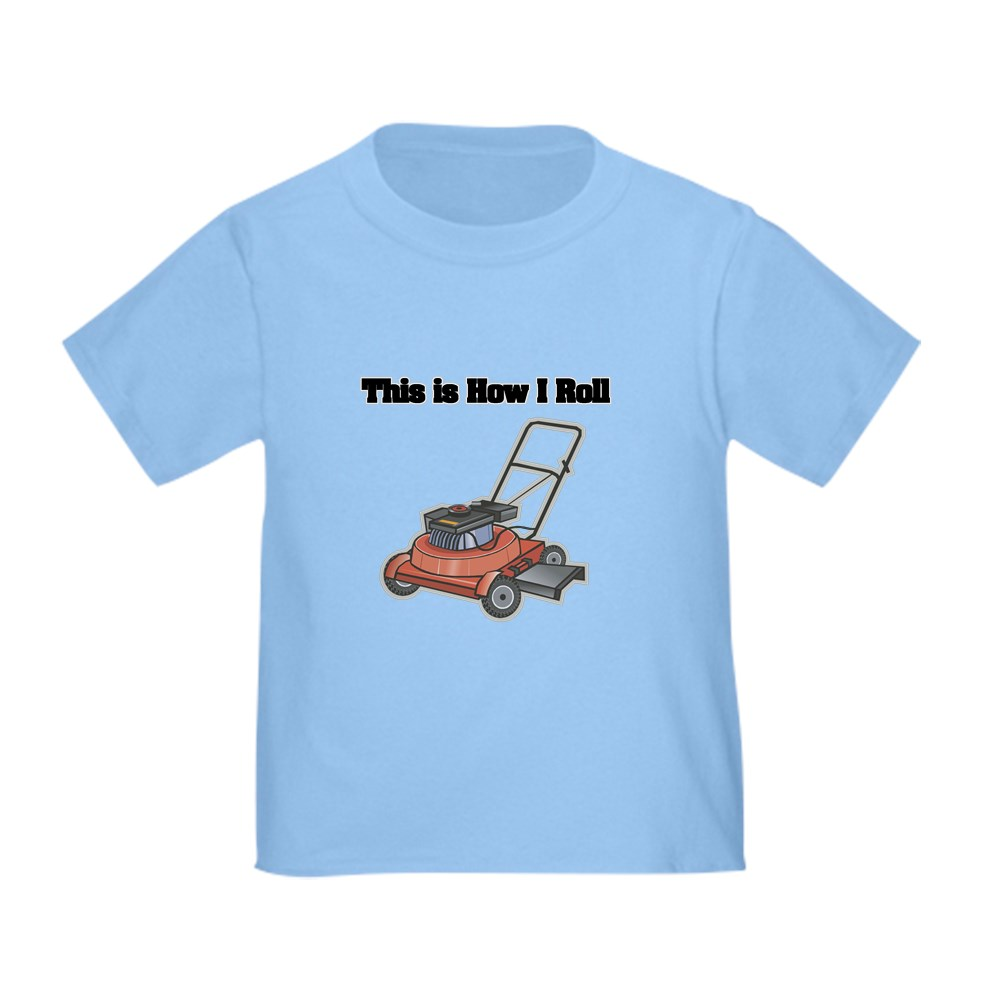 CafePress-How-I-Roll-Lawn-Mower-Toddler-T-Shirt-Toddler-T-Shirt-134352528 thumbnail 17
