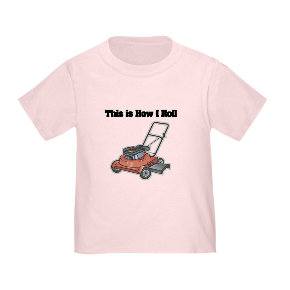 CafePress-How-I-Roll-Lawn-Mower-Toddler-T-Shirt-Toddler-T-Shirt-134352528 thumbnail 9