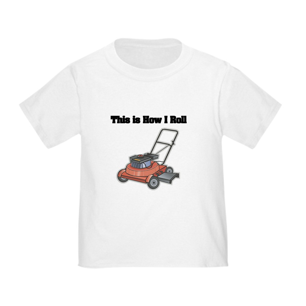 CafePress-How-I-Roll-Lawn-Mower-Toddler-T-Shirt-Toddler-T-Shirt-134352528 thumbnail 6