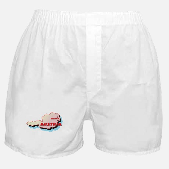 Austria Map Boxer Shorts