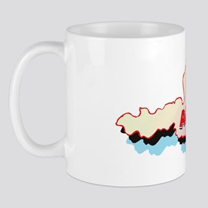 Austria Map Mug