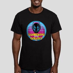 80s Drax Men's Fitted T-Shirt (dark)
