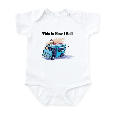 How I Roll (Ice Cream Truck) Infant Bodysuit