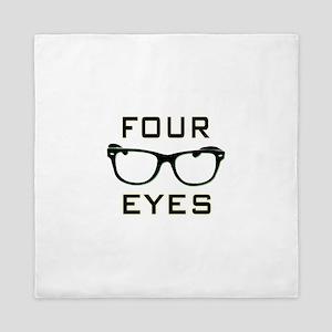 Four Eyes Queen Duvet