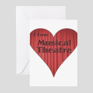 ilovemusicaltheatre Greeting Cards