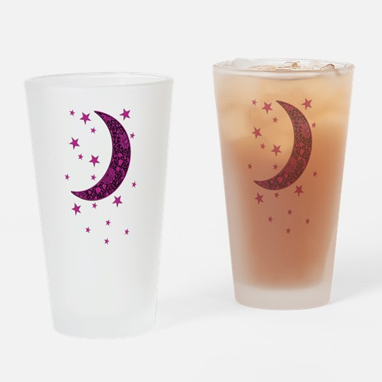 Cool Light pink Drinking Glass