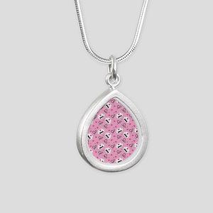2015 best nurse Silver Teardrop Necklace