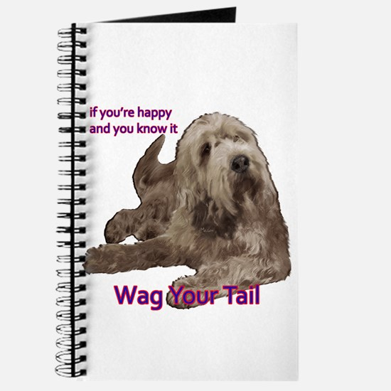 Otterhound wag your tail Journal