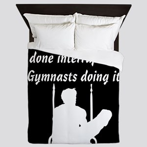 CHAMPION GYMNAST Queen Duvet