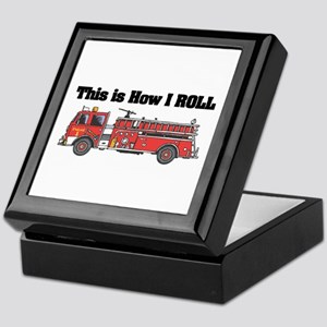 How I Roll (Fire Engine/Truck) Keepsake Box