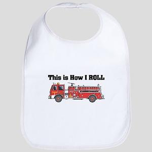 How I Roll (Fire Engine/Truck) Bib